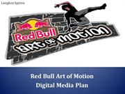 RedBull Art of Motion-Digital Marketing Plan Case Study