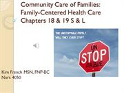 Community Nursing of Families: 4050 Unit 3