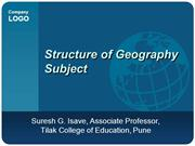 Structure of Geo Sub and Geo Room
