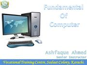 Fundamental of Computer