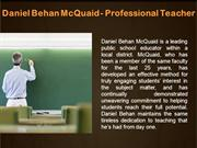Daniel Behan McQuaid - Professional Teacher