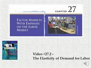 #27.2 -- The Elasticity of Demand for Labor (4.36)