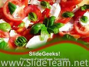 HEALTHY DIETS SALADS FOOD POWERPOINT TEMPLATE