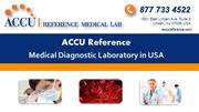 Accu Reference Medical Testing Lab in New Jersey