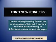 Top Content Writing Tips by Content writers