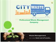 Get Any Purpose Waste Collection Service in London