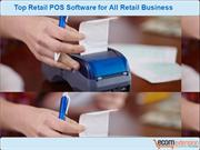 Top Retail PointOfSale Software for All Retail Business