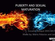 PUBERTY AND SEXUAL MATURATION