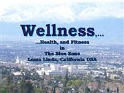 Wellness Health Fitness