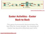 Easter Activities - Easter Back to Back