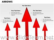 Arrows Success In Business Theme