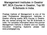 Management Institutes in Gwalior MP