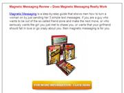 Magnetic Messaging Review - Does Magnetic Messaging Really Work ???