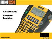 Rhino 5200 Online RHINO Academy Training DE final
