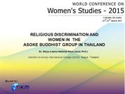 Religious discrimination and women