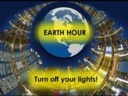 Earth Hour 2015- Switch off lights for one hour