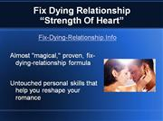 Fix    Dying    Relationship  Strength