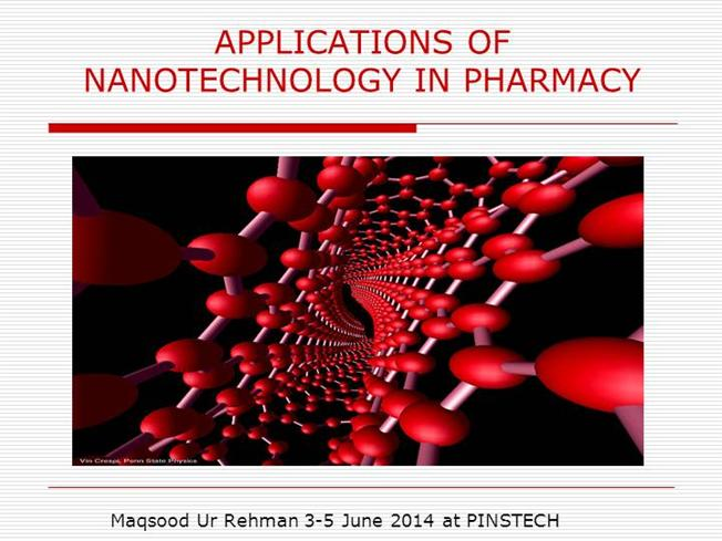 application of nanotechnology in pharmacy |authorstream, Presentation templates
