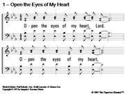 Open The Eyes Of My Heart_Lancaster