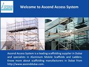 Scaffolding Supplier Dubai