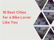 Most Bike-friendly Cities in the World
