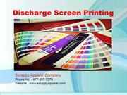 Discharge Screen Printing: Inking Fabric Without Underbases