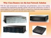 Why Cisco Routers Are the best Network Solution