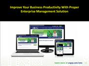Enterprise Management Solution
