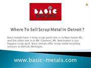 Where To Sell Scrap Metal In Detroit