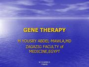 gene2therapynewyousryppt-100401082655-phpapp02