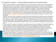 IT Support London – Its Overall Importance to Your Business