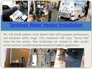Water Heater Repair Orange County CA