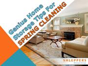 Genius Home Storage Tips for Spring Cleaning