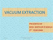 VACUUM EXTRACTION