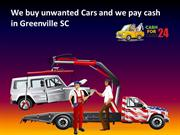 Cash for Cars Greenville - Sell My Car Greenville