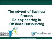 The Advent of Business Process Reengineering in Offshore Outsourcing
