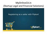 How to Register as a Seller on Flipkart