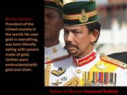 Sultan of Brunei-Hassanal Bolkiah
