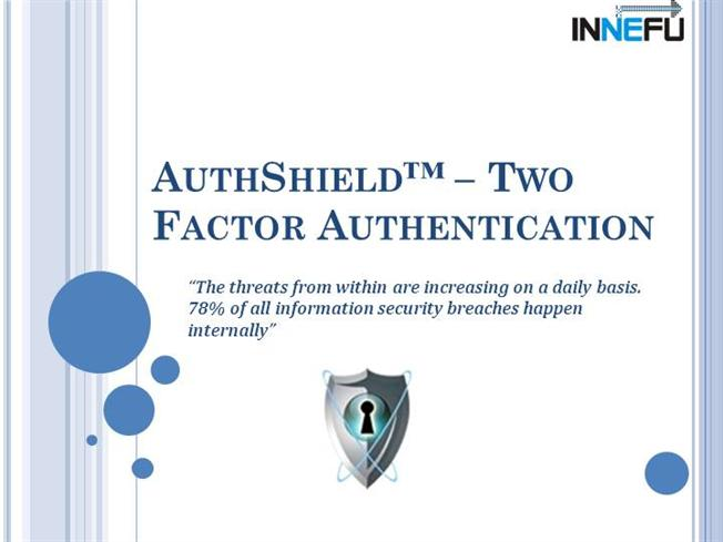 Authshield Lab 2 Factor Authentication Solutions
