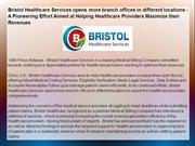 Bristol Healthcare Services opens more branch offices
