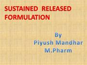 sustained release formulation