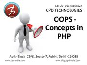 OOPS concepts in php