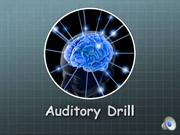 Mod 8 - Auditory Drill