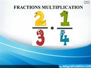 Fractions Multiplication