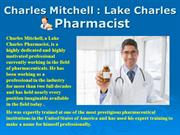 Charles Mitchell  Lake Charles_ Pharmacist