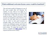 Which additional real estate license course would be beneficial