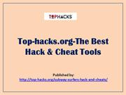 Top-hacks.org-The Best Hack & Cheat Tools