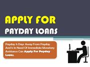 Apply For Payday Loans - Easy Online Finance For European