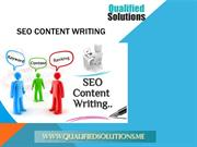 SEO Content Writing Services in UAE