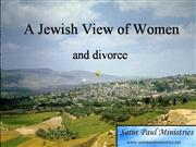 A Jewish View of Women and Divorce